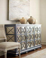 Horchow Cooper Mirrored Sideboard