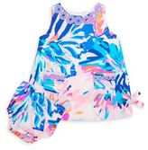 Lilly Pulitzer Baby's Two-Piece Cotton Shift Dress & Matching Bloomers Set