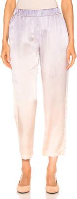 Raquel Allegra Ankle Pant in Silver Glow Tie Dye | FWRD