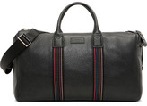 Paul Smith City Webbing Pebbled Leather Holdall