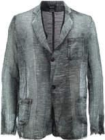 Avant Toi faded woven blazer