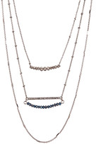 Stephan & Co Layered Beaded Necklace