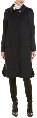Burberry Single-Breasted Cashmere Coat