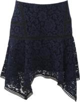 Veronica Beard Aura Lace Skirt