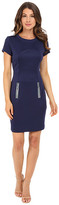 Christin Michaels Emer Scuba Dress