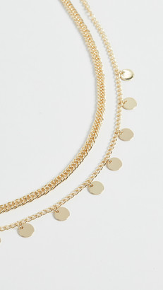 Jules Smith Designs Disc Curb Chain Necklace