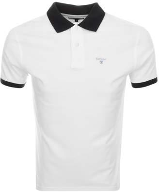 Barbour Lynton Polo T Shirt White