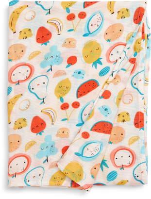 Loulou Lollipop Cutie Fruits Muslin Swaddle Blanket