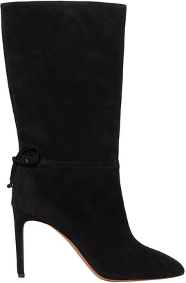 Alaia 90 Suede Boots