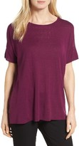 Eileen Fisher Women's Silk Blend Tunic Sweater