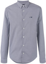 Armani Jeans gingham shirt - men - Cotton - M
