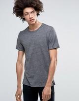 Minimum Delta Slub T-Shirt In Gray
