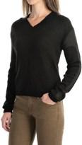 Peak Performance Karen Wool Blend Sweater - V-Neck, Long Sleeve (For Women)