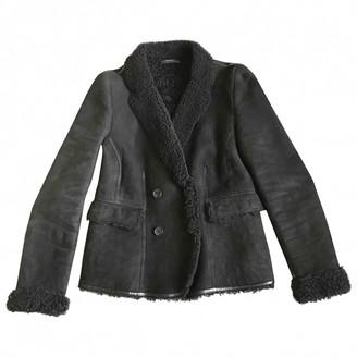Joseph Black Shearling Jackets