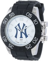 Game Time Men's MLB-BEA-NY3 Beast New York Yankees Round Analog Watch