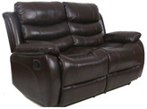 Andover Mills Lindsay Leather Loveseat