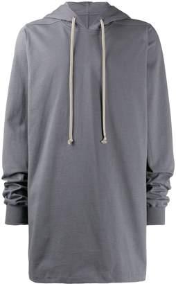 Rick Owens drawstring hoodie