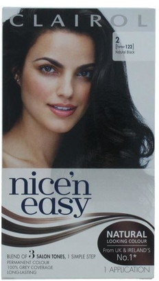 Clairol Nice'N Easy Permanent Hair Colour Natural Black