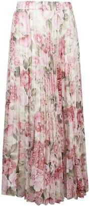 P.A.R.O.S.H. Pochic Long Floral Printed Dress