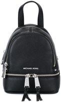 MICHAEL Michael Kors small 'Rhea' backpack - women - Leather - One Size