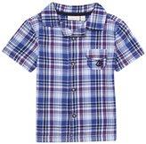 Jo-Jo JoJo Maman Bebe Check Shirt (Toddler/Kid)-Blue-4-5 Years
