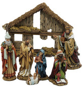 Kurt Adler Resin 7 Piece Nativity Set