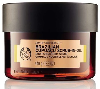 The Body Shop Spa of the World Brazilian Cupuacu Exfoliating Scrub-in-Oil