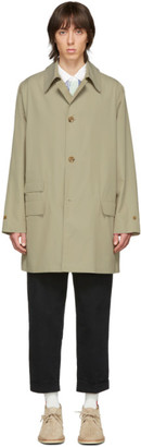 Beams Beige Travel Coat