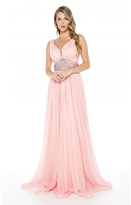 Ladyness Ladyness Soft Tulle Maxi Dress