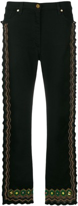 Etro embellished high-waisted jeans