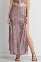American Eagle Outfitters AE Double Slit Maxi Skirt