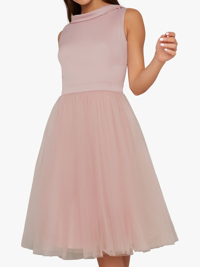 Chi Chi London Zeinara Dress, Pink