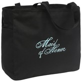 Hortense B. Hewitt Maid of Honor Diamond Wedding Gift Tote Bag - Black