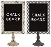 Ophelia & Co. 2 Piece Trellis Tabletop Chalkboard Set