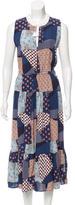 Sea Silk Printed Dress w/ Tags