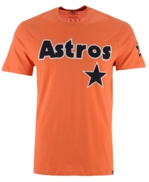 '47 Men's Houston Astros Fieldhouse Basic T-Shirt
