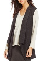Eileen Fisher Shawl Collar Vest