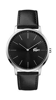 Lacoste Men's Stainless Steel Quartz Watch with Leather Strap