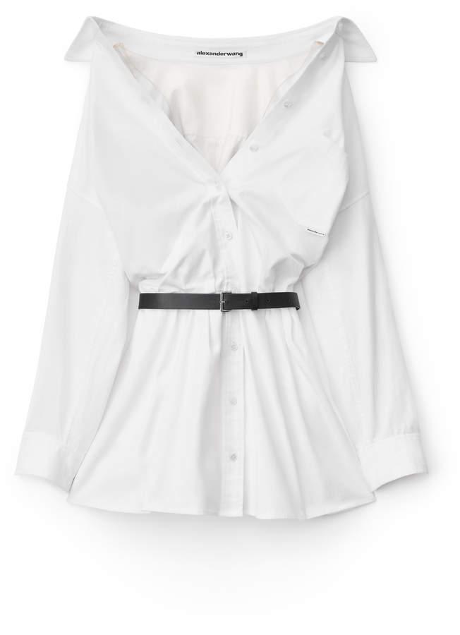 Alexander Wang Alexanderwang mini shirt dress