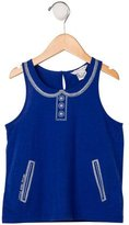 Little Marc Jacobs Girls' Printed Sleeveless Top