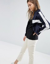Asos Track Top With Zip Through