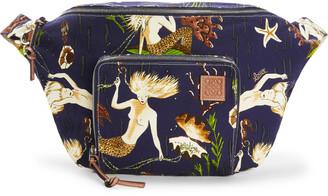 Loewe + Paula's Ibiza Printed Canvas Xl Belt Bag