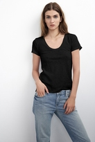Bay Cotton Slub Scoop Neck Tee