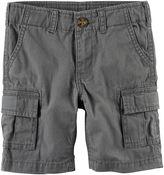 Carter's Toddler Boy Solid Cargo Shorts