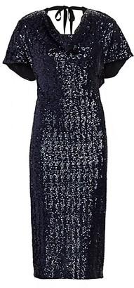 Roland Mouret Marianne Sequin Sheath Dress