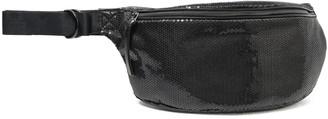 MM6 MAISON MARGIELA Sequined Woven Belt Bag