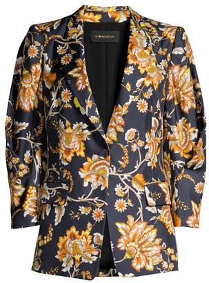 Kobi Halperin Maria Floral Silk Jacket