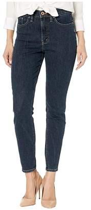 Silver Jeans Co. Calley Super High-Rise Curvy Fit Skinny Jeans in Indigo L95101SDG454 (Indigo) Women's Jeans
