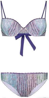 Missoni Metallic-Thread Bikini