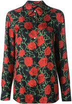 Alexander Wang floral print shirt - women - Silk - 4